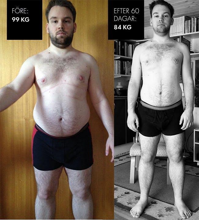 lchf viktnedgång resultat