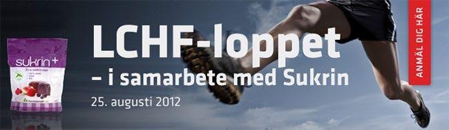 Nästa månad: Världens första LCHF-lopp!