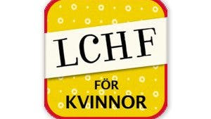 Ny iPhone-app: LCHF för kvinnor
