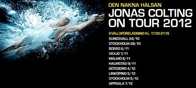 Jonas Colting on tour