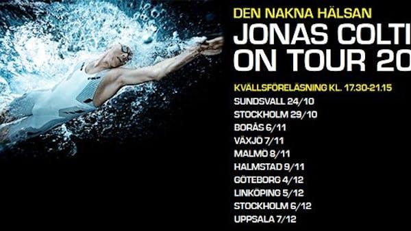 Den nakna hälsan: Föreläsningsturné med Jonas Colting