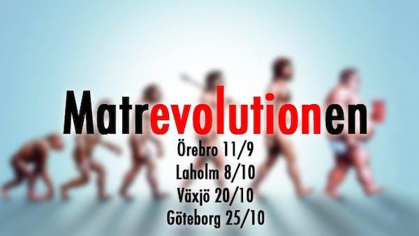 Höstens föreläsningar: Örebro, Laholm, Växjö, Göteborg