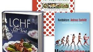 Sista chansen att vinna LCHF-kokböcker