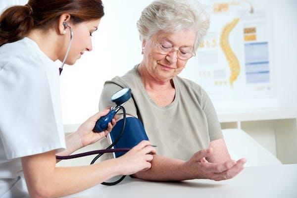 Blodtrycksmätning i sjukvården