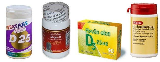 D-vitaminpreparat