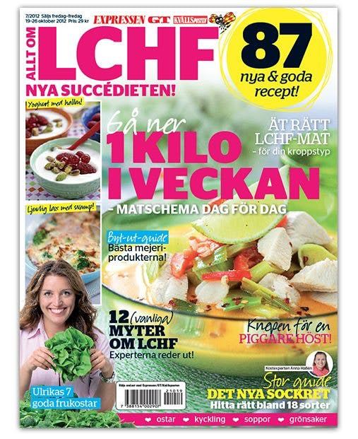 Expressen Allt om LCHF oktober