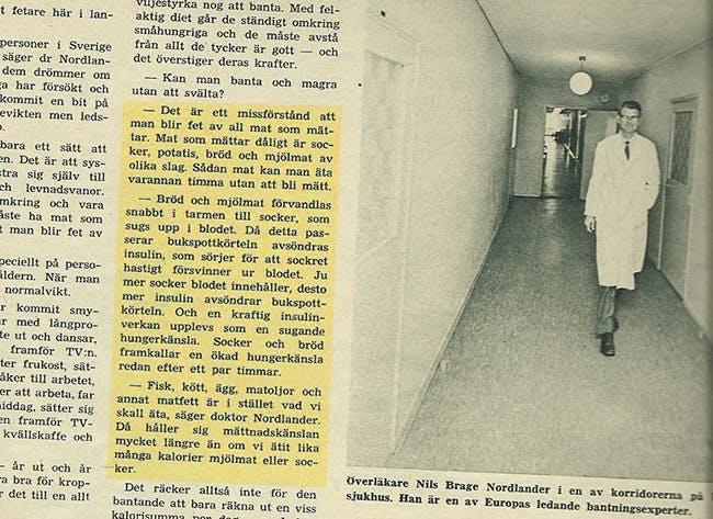 Ytterligare en expert rekommenderar LCHF – år 1966!