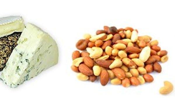 Lägre vikt med mindre mjölkprodukter och nötter