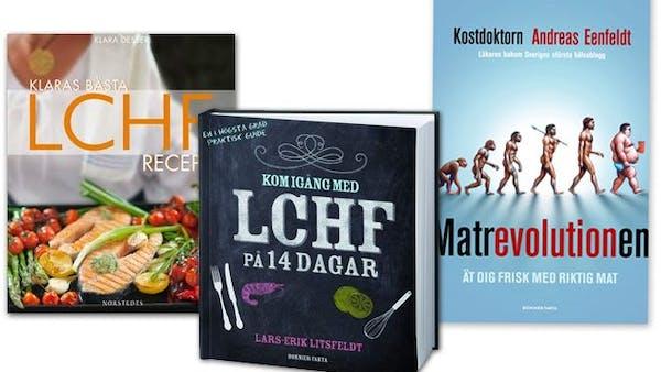 Vinn månadens LCHF-böcker!