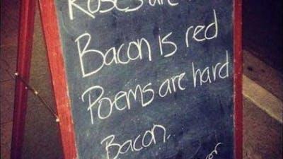 Baconpoesi