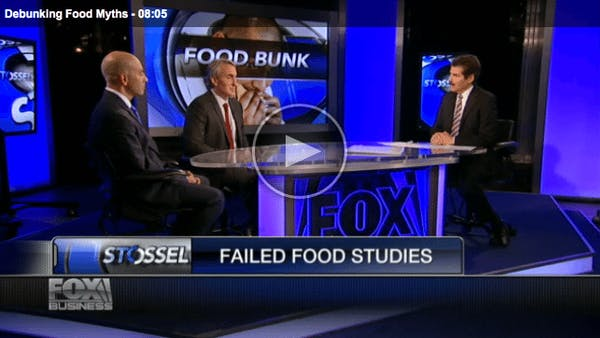 Om matmyter på amerikansk TV med Gary Taubes