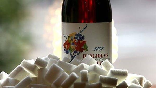 Dolt socker i Systembolagets rödvin