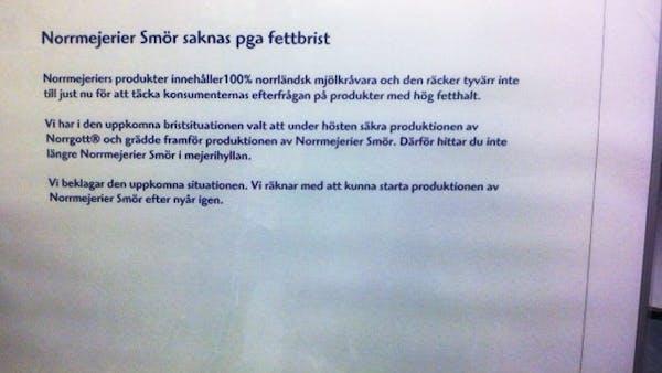 Fettbrist i Norrland