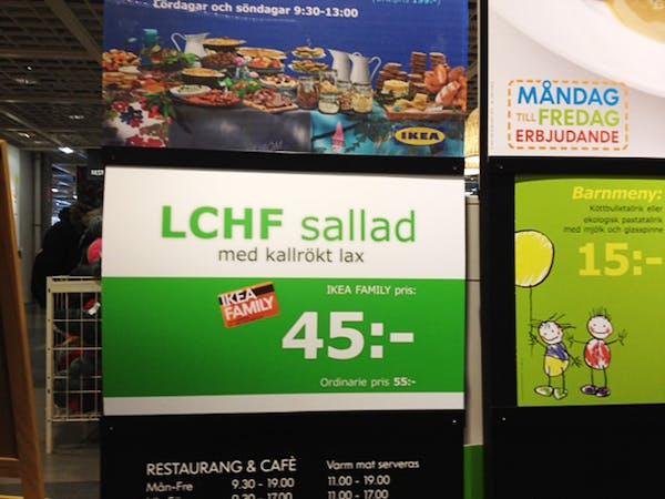 LCHF på IKEA