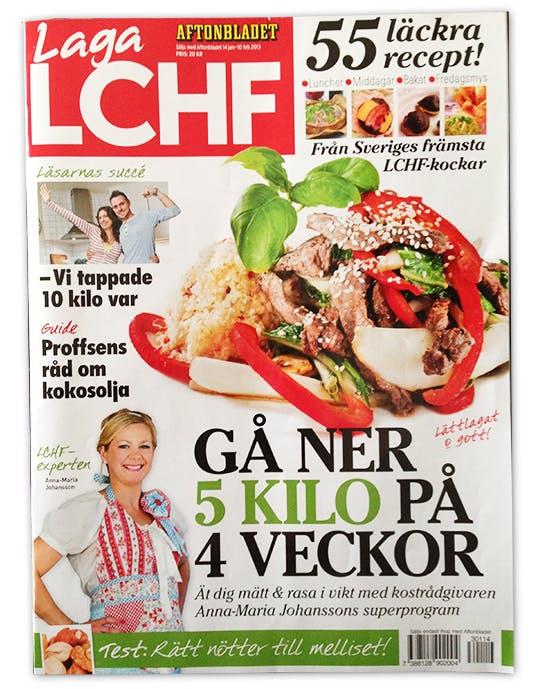 Aftonbladets nya LCHF-bilaga