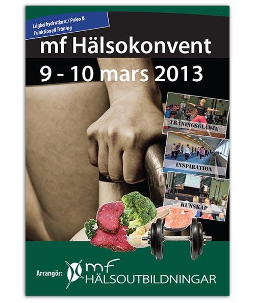 Sista dagen för rabatt till MF Hälsokonvent