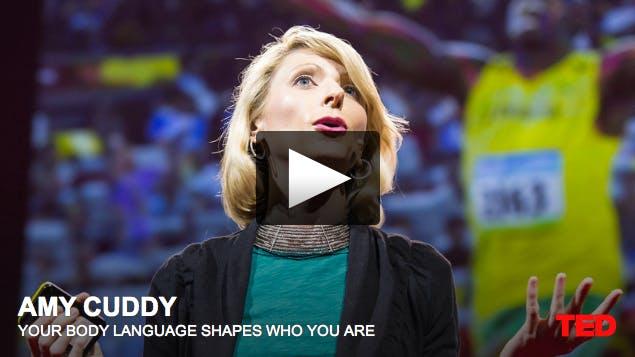 Ditt kroppsspråk påverkar vem du är