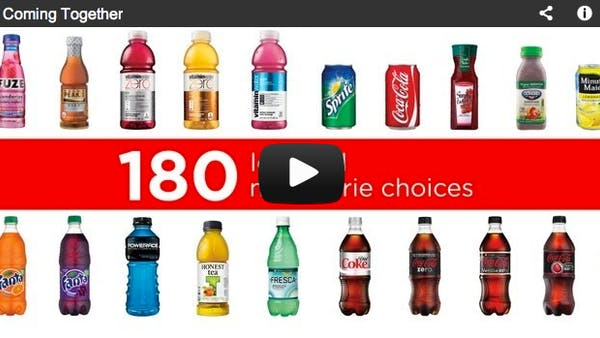 Är Coca Cola lösningen på fetmaepidemin?