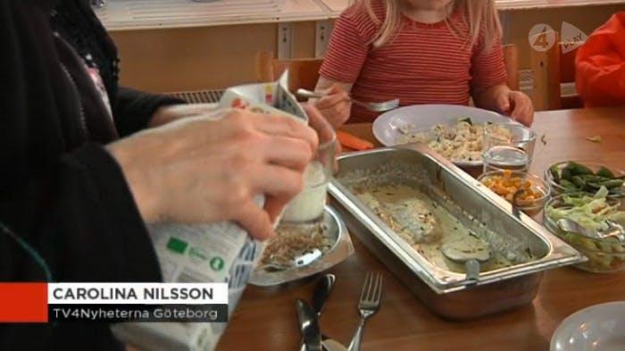 Tvång på lättprodukter till skolbarn upprör i Göteborg