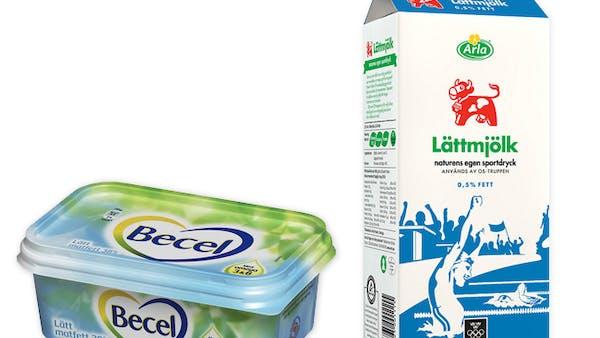 Svenskar som äter lättprodukter blir tjockare!