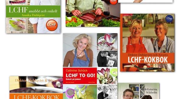 Gott om LCHF-kokböcker på bokrean!