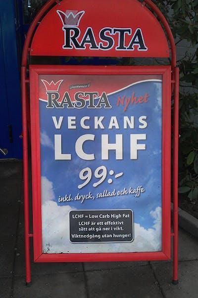 LCHF på Rasta