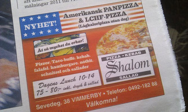 Vimmerby pizza