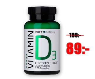 Kampanjpris på D-vitamin och Omega 3!