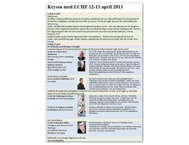LCHF-kryssning