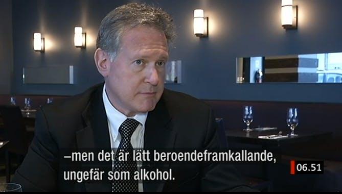 Korrespondenterna och Claude Marcus om socker i SVT