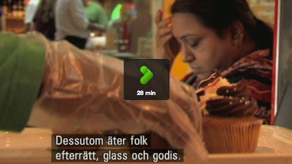 Om världens sötsug i SVT
