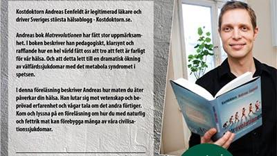Bara 50 platser till Stockholmsföreläsning i juni