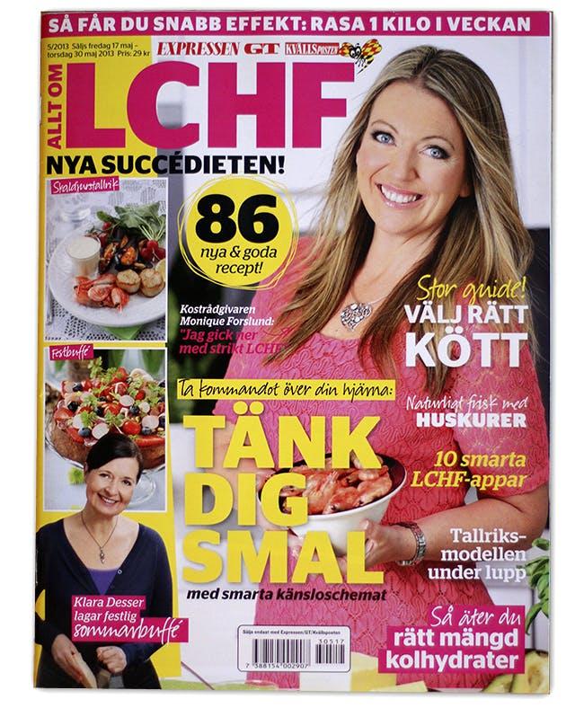 Ny LCHF-bilaga i butik nu