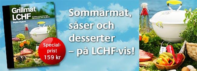 Specialpris på LCHF-böcker!