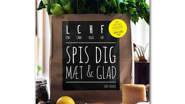 LCHF-bok etta på försäljningstoppen i Danmark