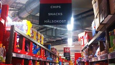 Hur man hittar nyttig mat i affären