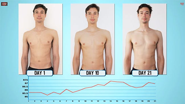 äta 500 kcal om dagen