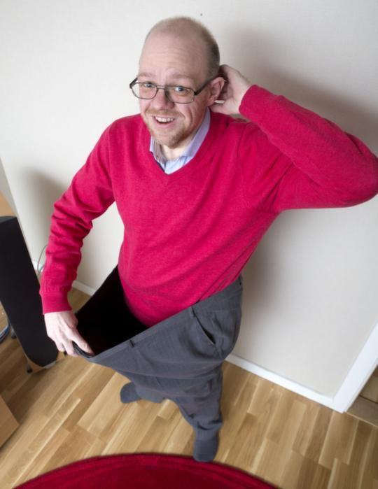 """""""LCHF-miraklet Tommy tappade halva sin vikt"""""""