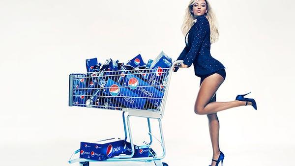 Beyoncé misslyckas med att öka läskförsäljningen