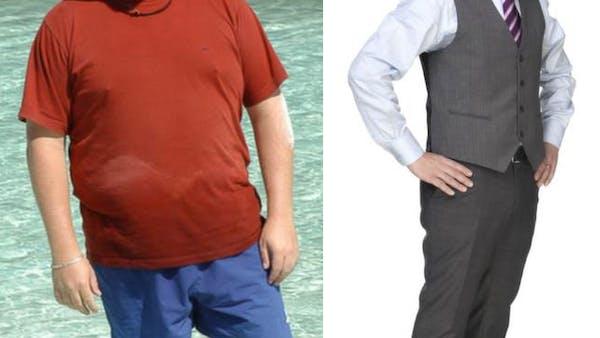 Johan gick ner 57 kilo med LCHF