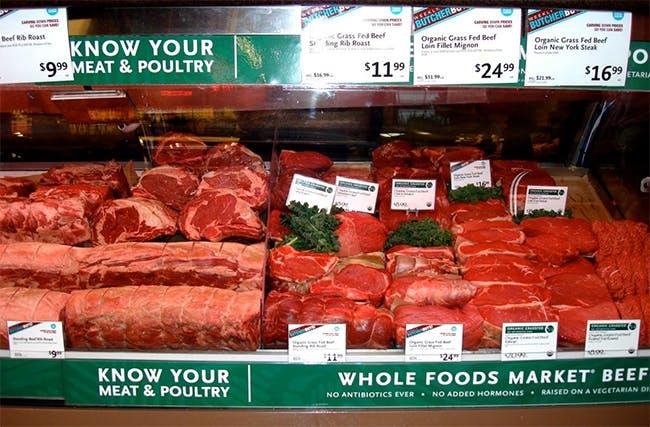 Skillnaden på gräsbetat och annat kött