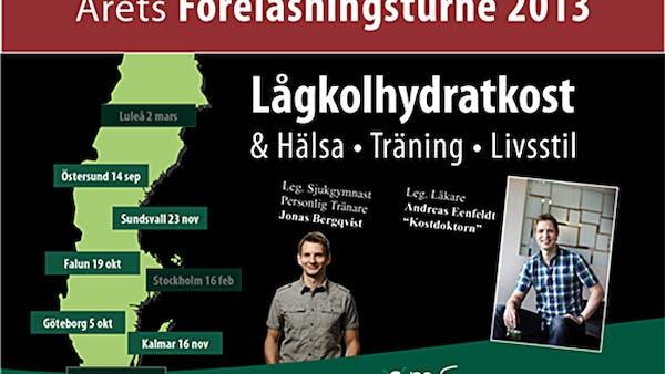 Höstens föreläsningsturné om LCHF: Sista chansen för rabatt