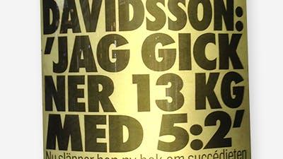 Davidsson och 5:2 på Aftonbladets löpsedel
