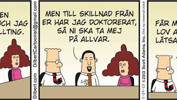Dilbert om vetenskaplighet