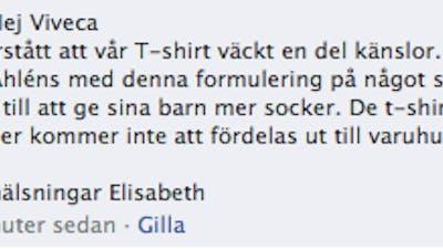"""Åhléns backar om """"läsk är coolt"""""""