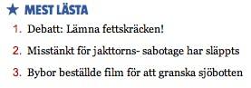 Mest läst i Östersunds-Posten