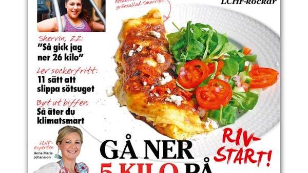Aftonbladets kolhydrats-LCHF