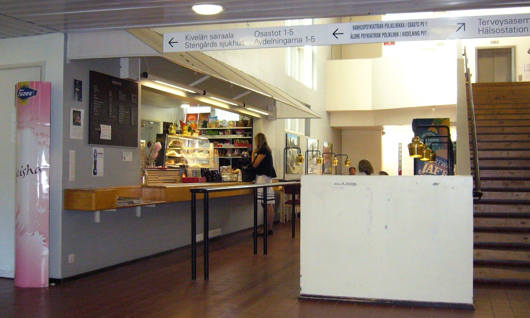 sjuk-huscafeteria
