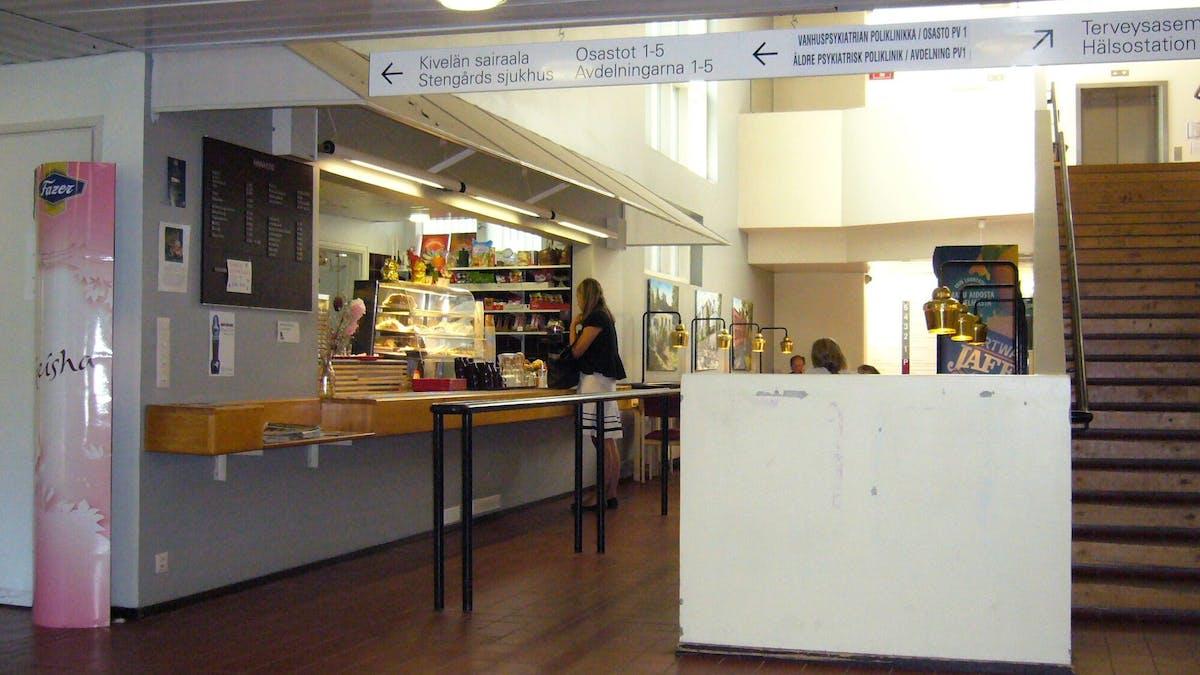 Sjuk-huscafeterian ger diabetes