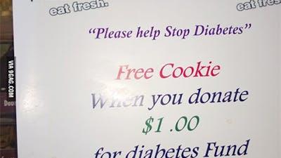 Misslyckat försök att bota diabetes på Subway